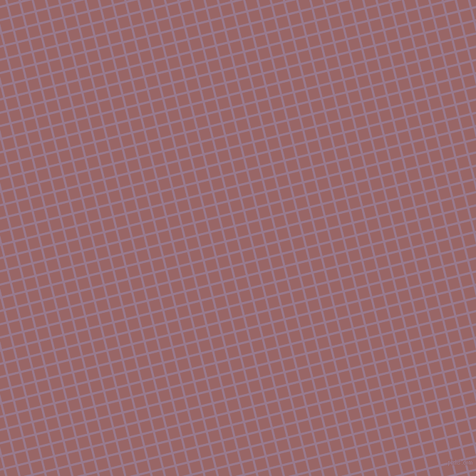 14/104 degree angle diagonal checkered chequered lines, 3 pixel lines width, 15 pixel square size, Mountbatten Pink and Copper Rose plaid checkered seamless tileable