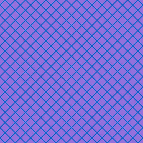 45/135 degree angle diagonal checkered chequered lines, 3 pixel lines width, 22 pixel square size, Navy Blue and Medium Purple plaid checkered seamless tileable
