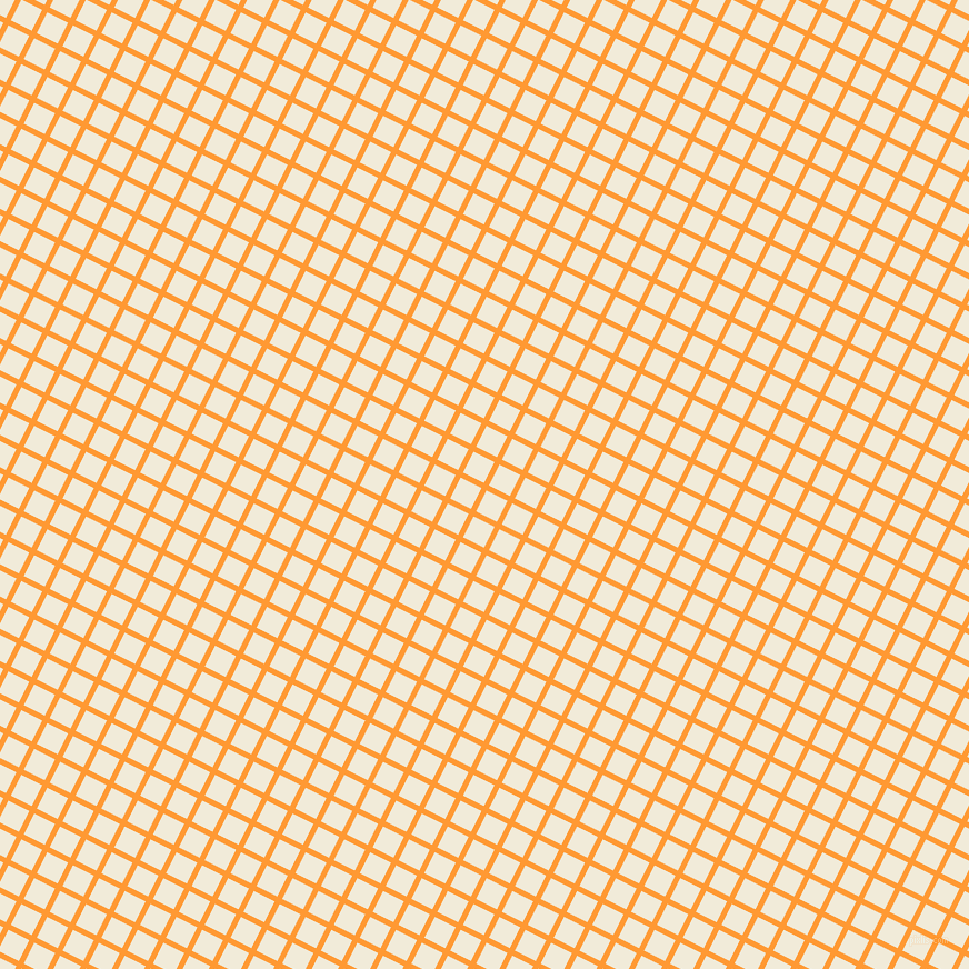 63/153 degree angle diagonal checkered chequered lines, 5 pixel line width, 21 pixel square size, Neon Carrot and Orchid White plaid checkered seamless tileable