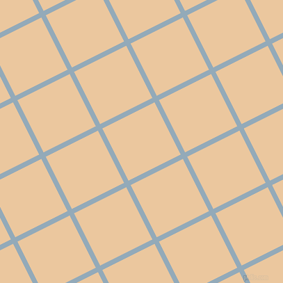 27/117 degree angle diagonal checkered chequered lines, 7 pixel lines width, 84 pixel square size, Nepal and New Tan plaid checkered seamless tileable