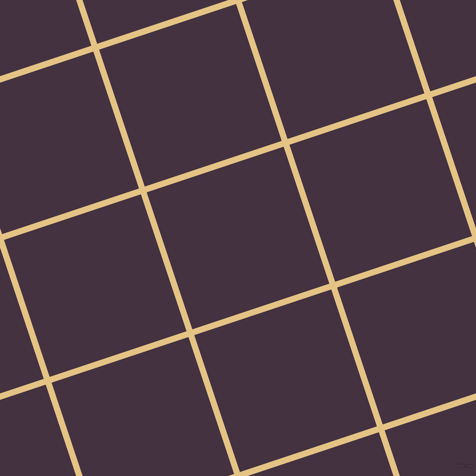 18/108 degree angle diagonal checkered chequered lines, 12 pixel lines width, 282 pixel square size, New Orleans and Voodoo plaid checkered seamless tileable