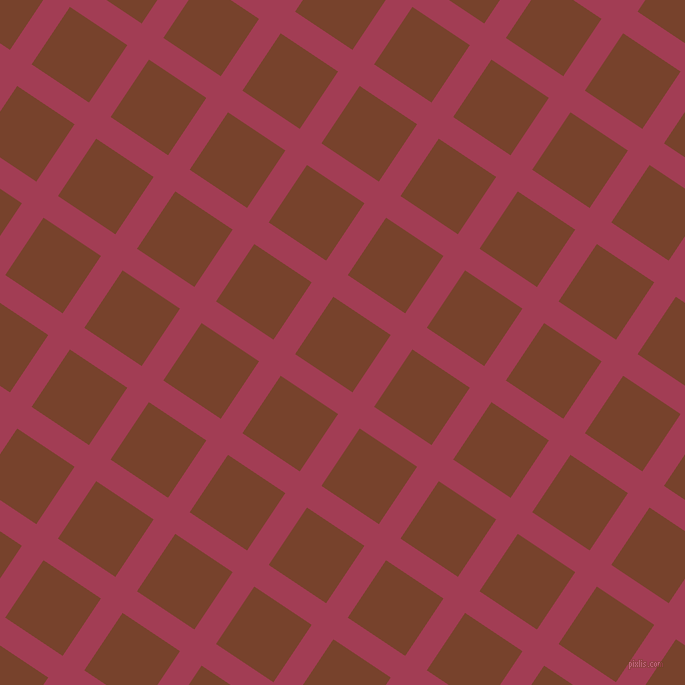 56/146 degree angle diagonal checkered chequered lines, 26 pixel line width, 69 pixel square size, Night Shadz and Copper Canyon plaid checkered seamless tileable