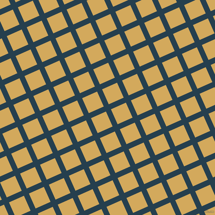 24/114 degree angle diagonal checkered chequered lines, 18 pixel lines width, 54 pixel square size, Nile Blue and Apache plaid checkered seamless tileable