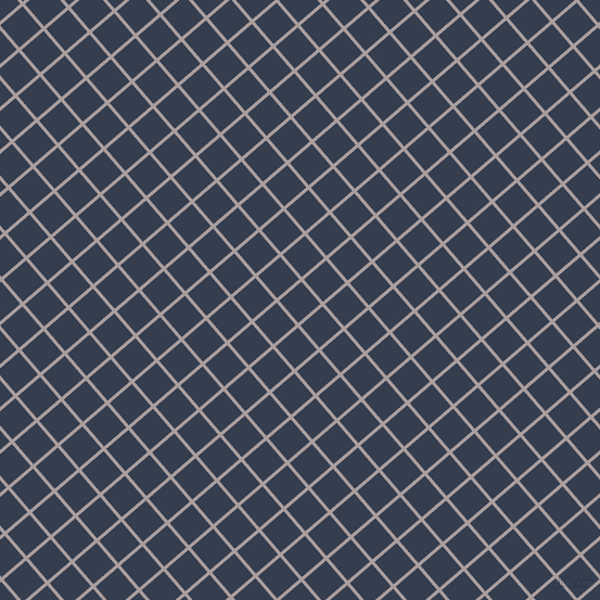 41/131 degree angle diagonal checkered chequered lines, 3 pixel line width, 27 pixel square size, Nobel and Cloud Burst plaid checkered seamless tileable