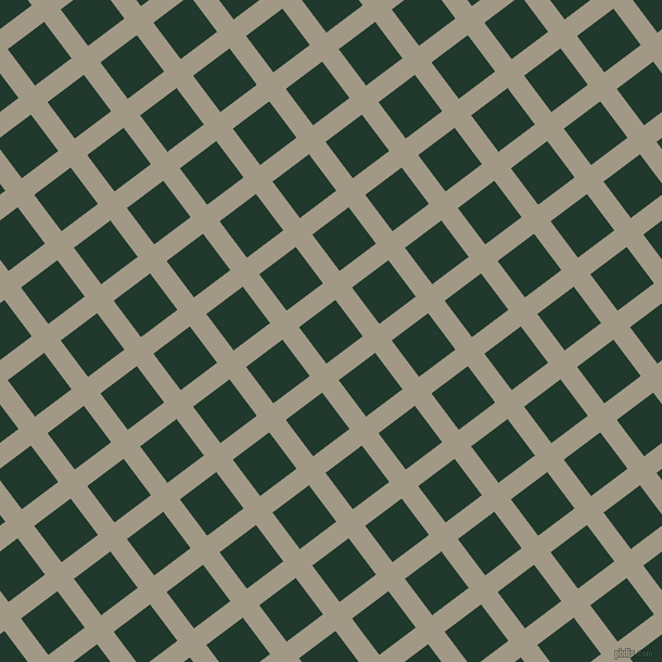 37/127 degree angle diagonal checkered chequered lines, 19 pixel line width, 42 pixel square size, Nomad and Palm Green plaid checkered seamless tileable