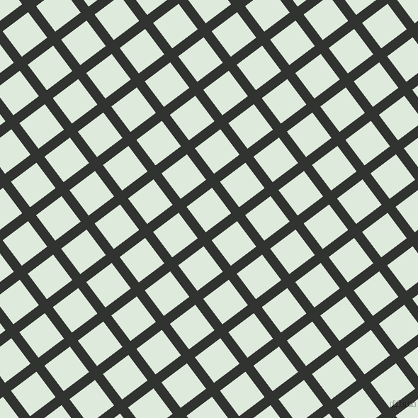 37/127 degree angle diagonal checkered chequered lines, 14 pixel lines width, 45 pixel square size, Oil and Apple Green plaid checkered seamless tileable