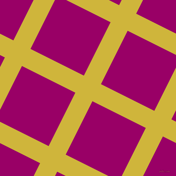 63/153 degree angle diagonal checkered chequered lines, 62 pixel lines width, 194 pixel square size, Old Gold and Eggplant plaid checkered seamless tileable