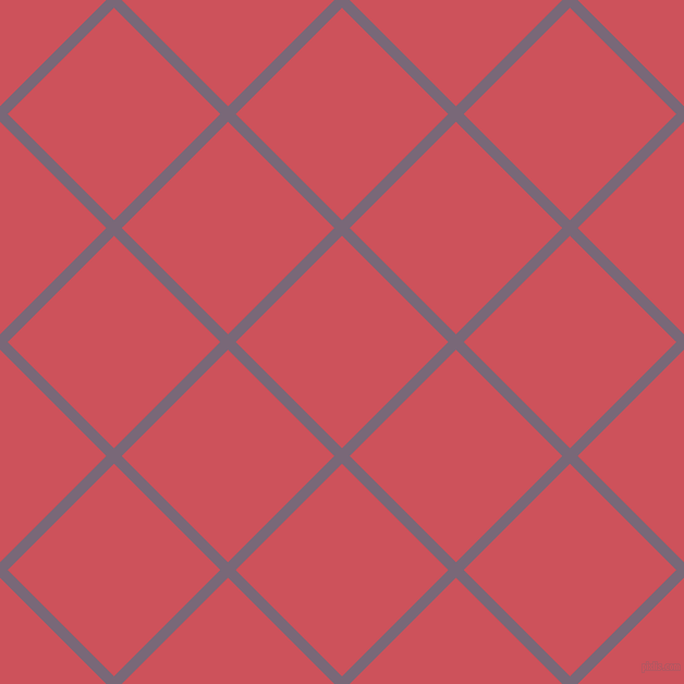 45/135 degree angle diagonal checkered chequered lines, 10 pixel lines width, 138 pixel square size, Old Lavender and Mandy plaid checkered seamless tileable