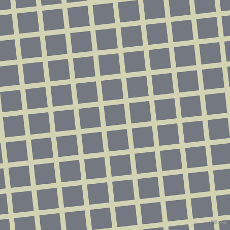 6/96 degree angle diagonal checkered chequered lines, 10 pixel lines width, 40 pixel square size, Orinoco and Storm Grey plaid checkered seamless tileable