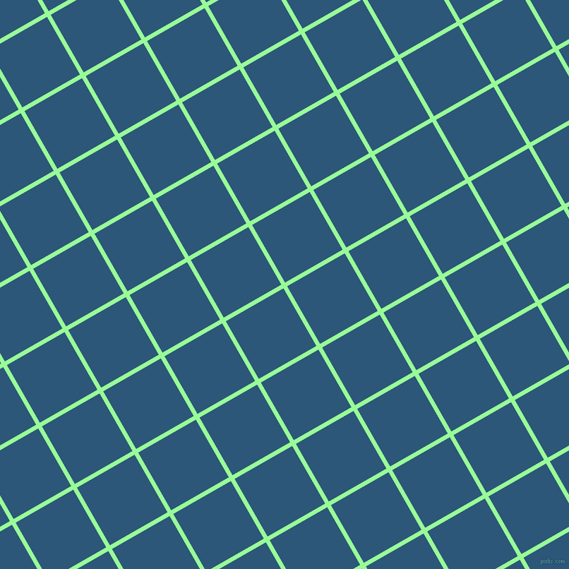 30/120 degree angle diagonal checkered chequered lines, 6 pixel lines width, 94 pixel square size, Pale Green and Venice Blue plaid checkered seamless tileable