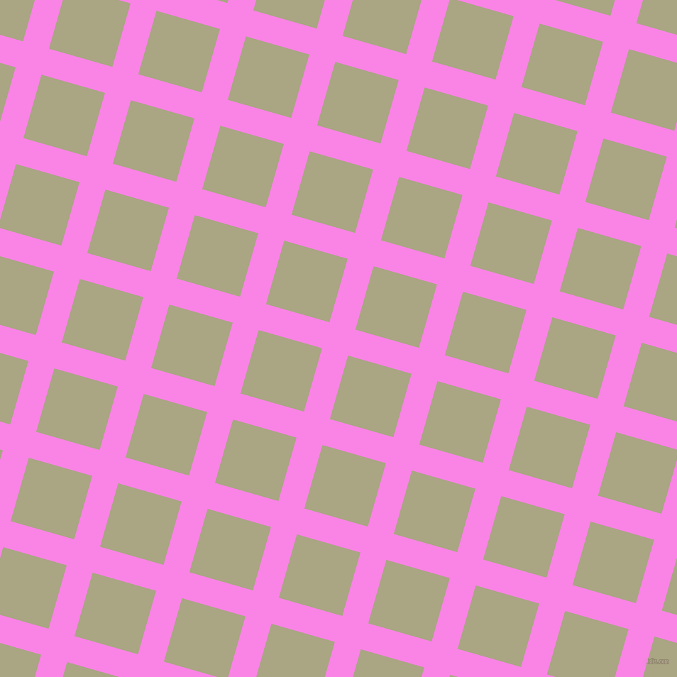 74/164 degree angle diagonal checkered chequered lines, 38 pixel lines width, 93 pixel square sizePale Magenta and Neutral Green plaid checkered seamless tileable