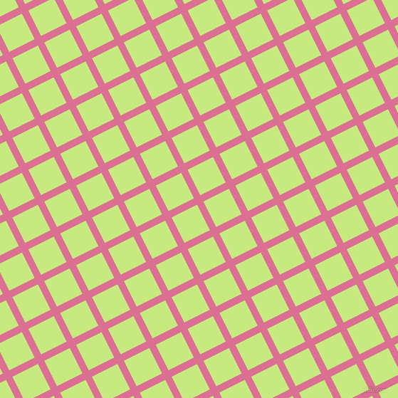 27/117 degree angle diagonal checkered chequered lines, 10 pixel lines width, 40 pixel square size, Pale Violet Red and Sulu plaid checkered seamless tileable