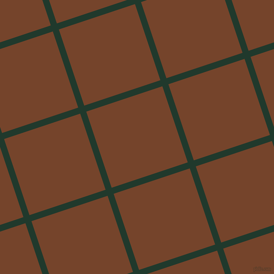 18/108 degree angle diagonal checkered chequered lines, 13 pixel line width, 164 pixel square size, Palm Green and Bull Shot plaid checkered seamless tileable
