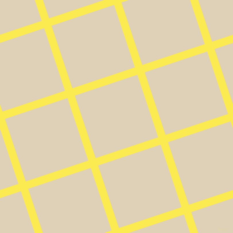 18/108 degree angle diagonal checkered chequered lines, 27 pixel line width, 230 pixel square size, Paris Daisy and Spanish White plaid checkered seamless tileable