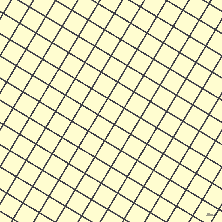 59/149 degree angle diagonal checkered chequered lines, 5 pixel line width, 62 pixel square size, Payne