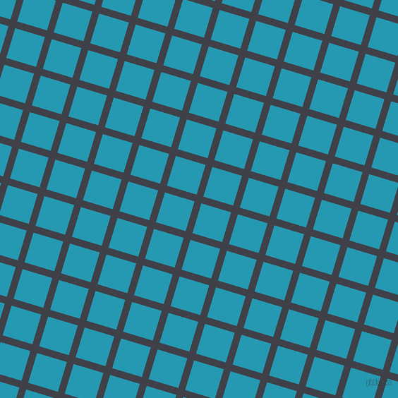 73/163 degree angle diagonal checkered chequered lines, 10 pixel line width, 44 pixel square size, Payne