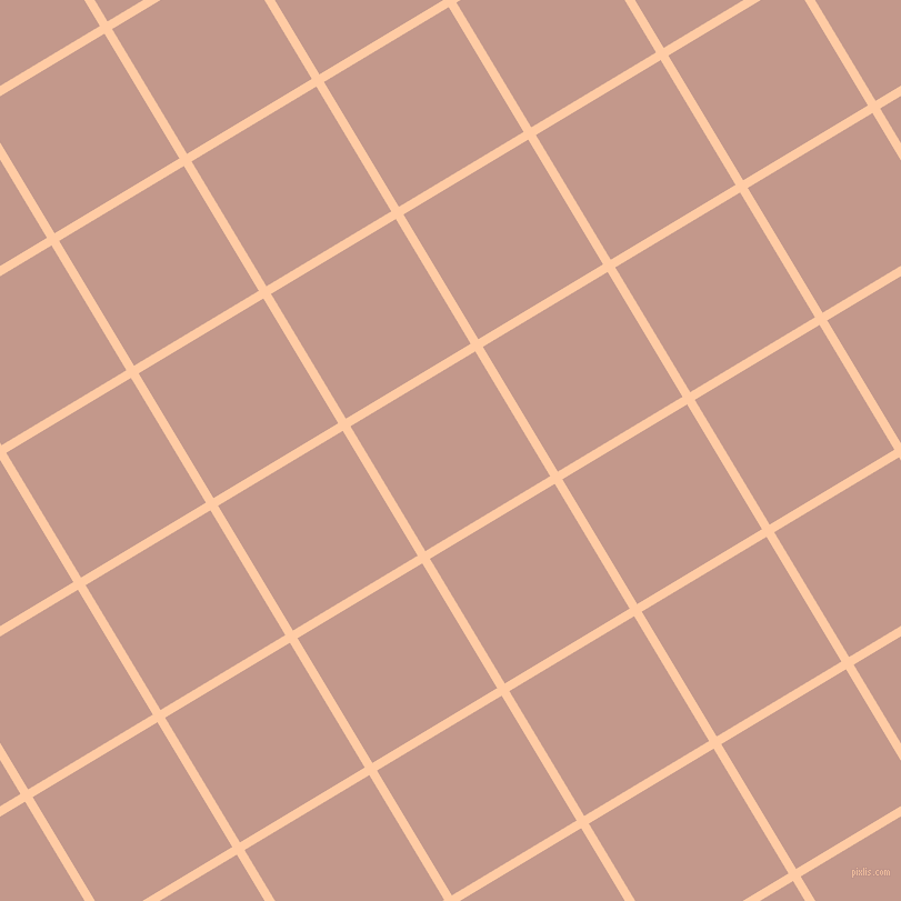 31/121 degree angle diagonal checkered chequered lines, 8 pixel lines width, 131 pixel square size, Peach and Quicksand plaid checkered seamless tileable