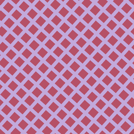 48/138 degree angle diagonal checkered chequered lines, 12 pixel line width, 26 pixel square size, Perfume and Blush plaid checkered seamless tileable