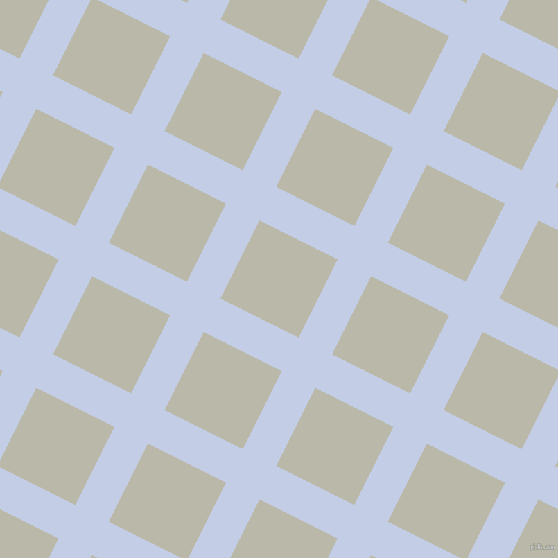 63/153 degree angle diagonal checkered chequered lines, 54 pixel lines width, 126 pixel square size, Periwinkle and Mist Grey plaid checkered seamless tileable