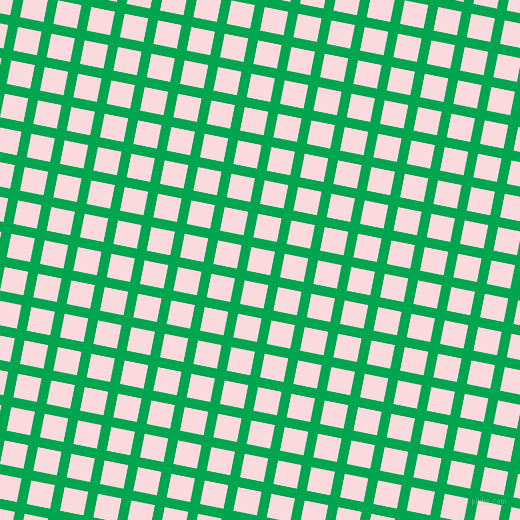 79/169 degree angle diagonal checkered chequered lines, 10 pixel lines width, 24 pixel square sizePigment Green and Pale Pink plaid checkered seamless tileable