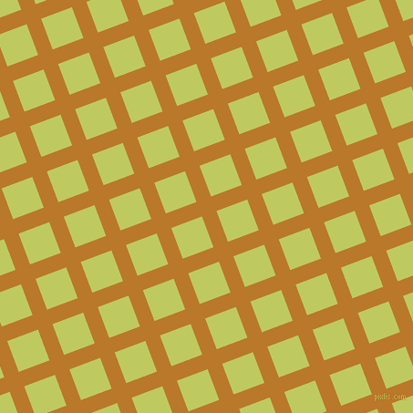 21/111 degree angle diagonal checkered chequered lines, 17 pixel lines width, 36 pixel square size, Pirate Gold and Wild Willow plaid checkered seamless tileable