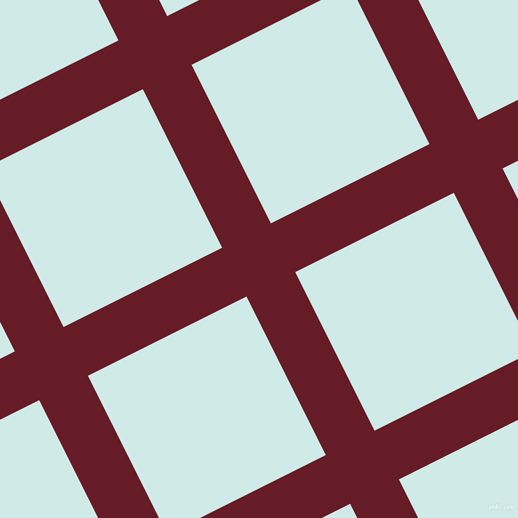27/117 degree angle diagonal checkered chequered lines, 78 pixel line width, 254 pixel square size, Pohutukawa and Foam plaid checkered seamless tileable