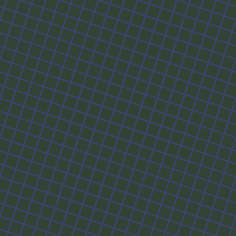 72/162 degree angle diagonal checkered chequered lines, 5 pixel line width, 36 pixel square size, Port Gore and Timber Green plaid checkered seamless tileable