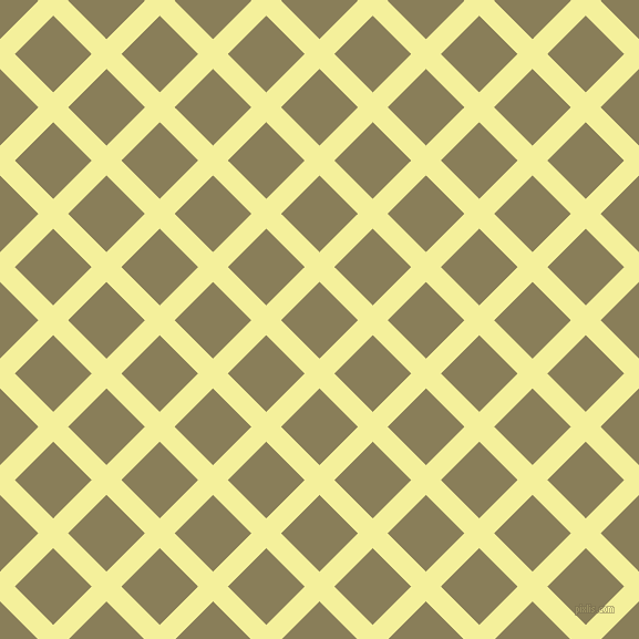 45/135 degree angle diagonal checkered chequered lines, 19 pixel line width, 49 pixel square size, Portafino and Clay Creek plaid checkered seamless tileable