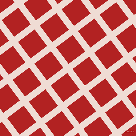 37/127 degree angle diagonal checkered chequered lines, 21 pixel lines width, 67 pixel square size, Pot Pourri and Fire Brick plaid checkered seamless tileable