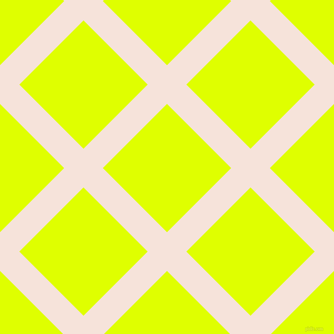 45/135 degree angle diagonal checkered chequered lines, 54 pixel lines width, 179 pixel square size, Provincial Pink and Chartreuse Yellow plaid checkered seamless tileable