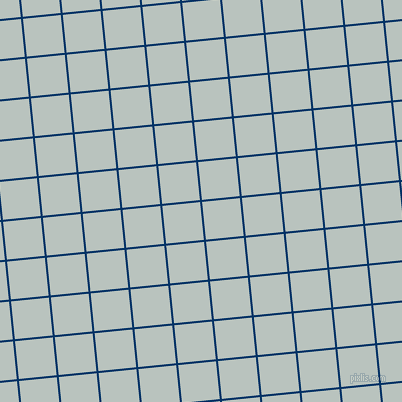 6/96 degree angle diagonal checkered chequered lines, 2 pixel lines width, 38 pixel square size, Prussian Blue and Tiara plaid checkered seamless tileable