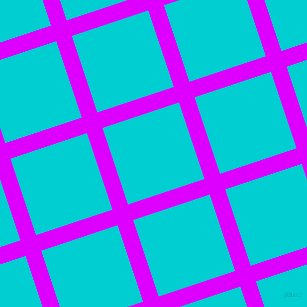 18/108 degree angle diagonal checkered chequered lines, 33 pixel line width, 162 pixel square size, Psychedelic Purple and Dark Turquoise plaid checkered seamless tileable