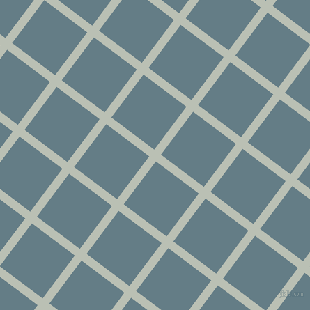 53/143 degree angle diagonal checkered chequered lines, 12 pixel line width, 77 pixel square size, Pumice and Hoki plaid checkered seamless tileable