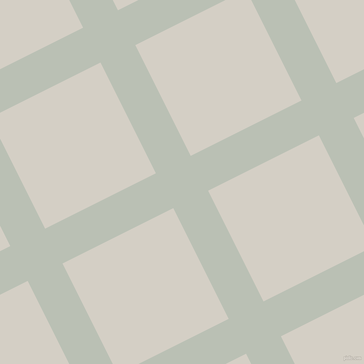 27/117 degree angle diagonal checkered chequered lines, 78 pixel line width, 248 pixel square size, Pumice and Westar plaid checkered seamless tileable