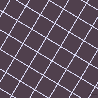 59/149 degree angle diagonal checkered chequered lines, 4 pixel line width, 66 pixel square size, Quartz and Purple Taupe plaid checkered seamless tileable