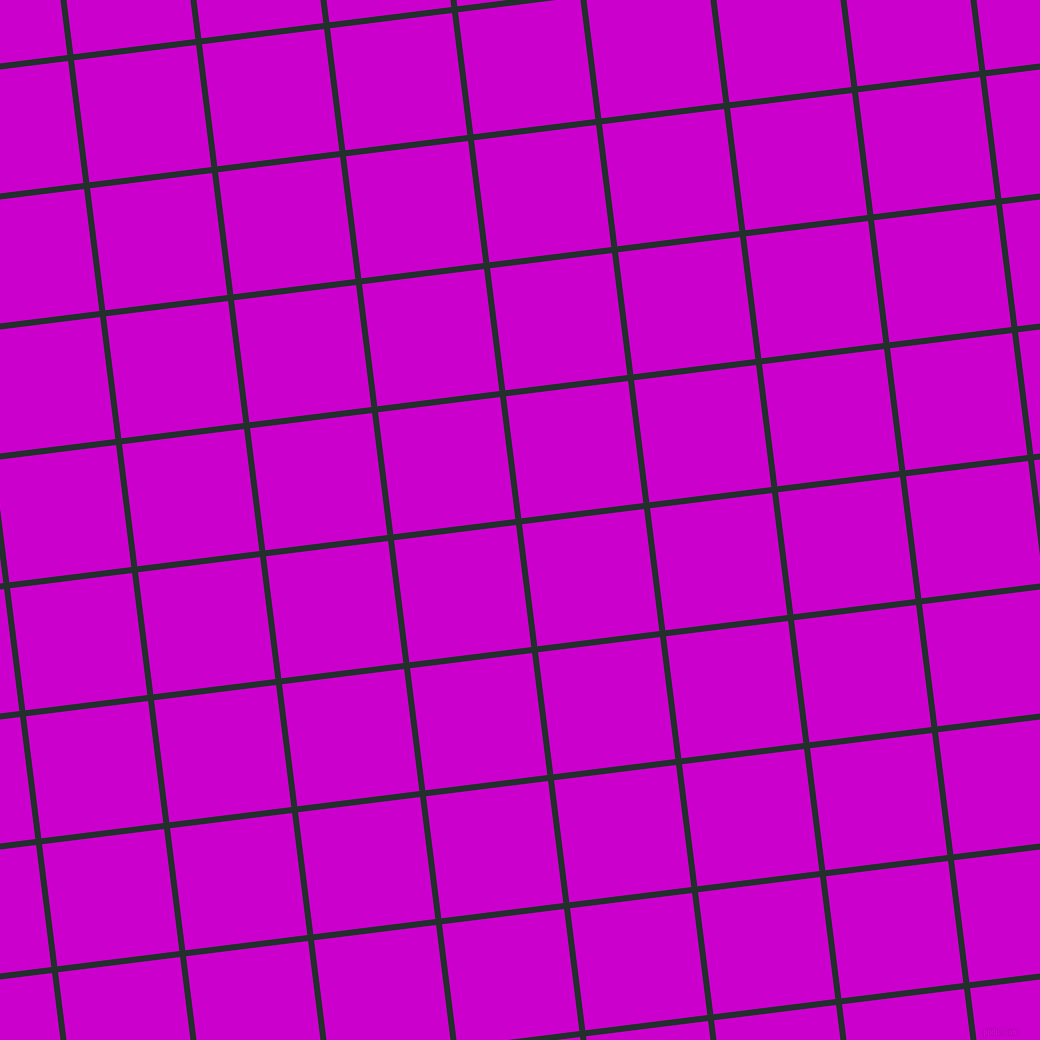 7/97 degree angle diagonal checkered chequered lines, 6 pixel line width, 123 pixel square size, Racing Green and Deep Magenta plaid checkered seamless tileable