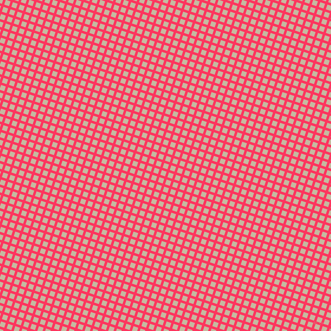 72/162 degree angle diagonal checkered chequered lines, 5 pixel lines width, 10 pixel square sizeRadical Red and Sisal plaid checkered seamless tileable