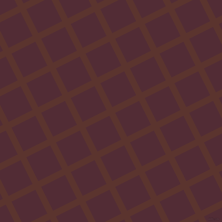 27/117 degree angle diagonal checkered chequered lines, 21 pixel lines width, 88 pixel square sizeRedwood and Wine Berry plaid checkered seamless tileable