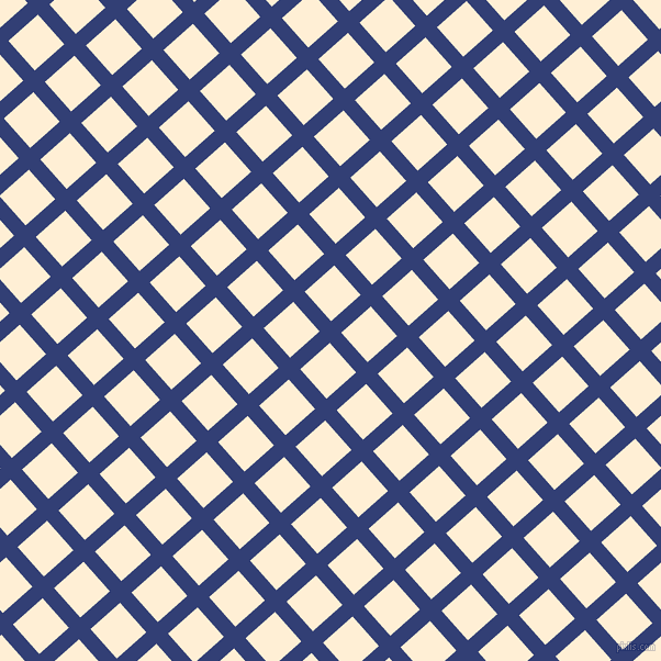 42/132 degree angle diagonal checkered chequered lines, 14 pixel line width, 36 pixel square size, Resolution Blue and Papaya Whip plaid checkered seamless tileable