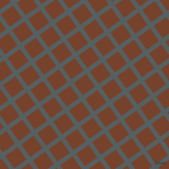 36/126 degree angle diagonal checkered chequered lines, 14 pixel line width, 49 pixel square size, River Bed and Copper Canyon plaid checkered seamless tileable