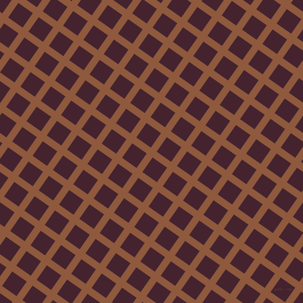 55/145 degree angle diagonal checkered chequered lines, 14 pixel line width, 35 pixel square size, Rope and Castro plaid checkered seamless tileable