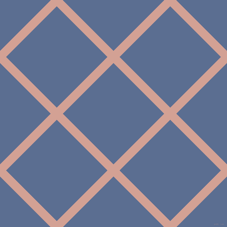 45/135 degree angle diagonal checkered chequered lines, 30 pixel lines width, 251 pixel square size, Rose and Waikawa Grey plaid checkered seamless tileable
