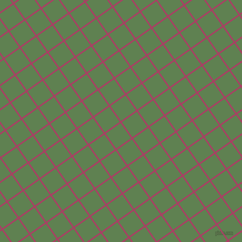 35/125 degree angle diagonal checkered chequered lines, 3 pixel line width, 37 pixel square size, Rouge and Glade Green plaid checkered seamless tileable