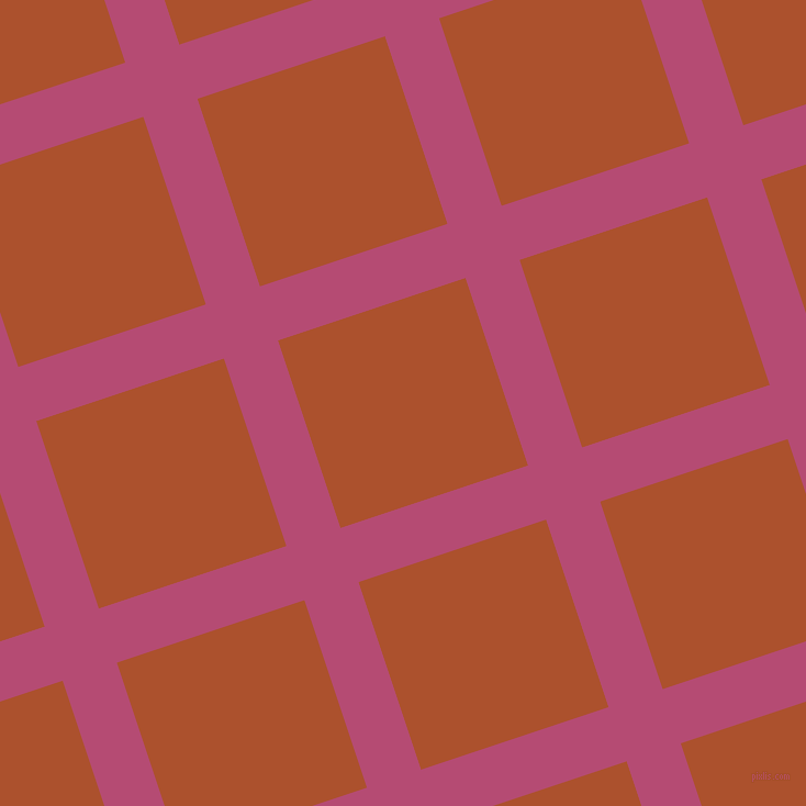 18/108 degree angle diagonal checkered chequered lines, 52 pixel lines width, 180 pixel square size, Royal Heath and Rose Of Sharon plaid checkered seamless tileable