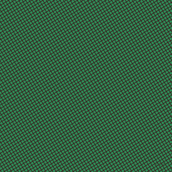 31/121 degree angle diagonal checkered chequered lines, 2 pixel line width, 8 pixel square size, Rustic Red and Sea Green plaid checkered seamless tileable