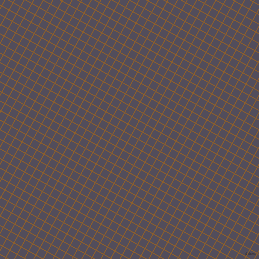 61/151 degree angle diagonal checkered chequered lines, 3 pixel line width, 25 pixel square size, Rusty Nail and Mulled Wine plaid checkered seamless tileable