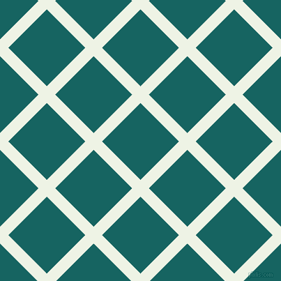 45/135 degree angle diagonal checkered chequered lines, 17 pixel lines width, 78 pixel square size, Saltpan and Blue Stone plaid checkered seamless tileable