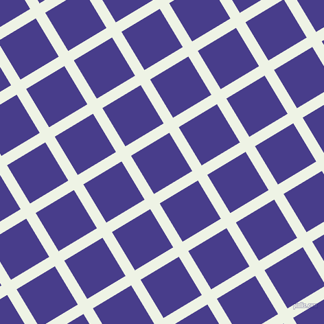 31/121 degree angle diagonal checkered chequered lines, 16 pixel lines width, 65 pixel square size, Saltpan and Dark Slate Blue plaid checkered seamless tileable