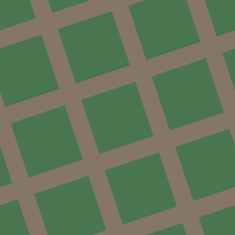 18/108 degree angle diagonal checkered chequered lines, 55 pixel line width, 182 pixel square size, Sand Dune and Killarney plaid checkered seamless tileable