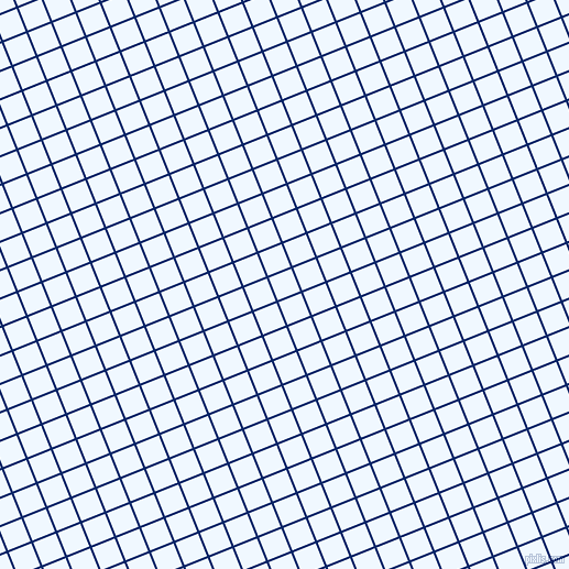 22/112 degree angle diagonal checkered chequered lines, 2 pixel line width, 22 pixel square size, Sapphire and Alice Blue plaid checkered seamless tileable